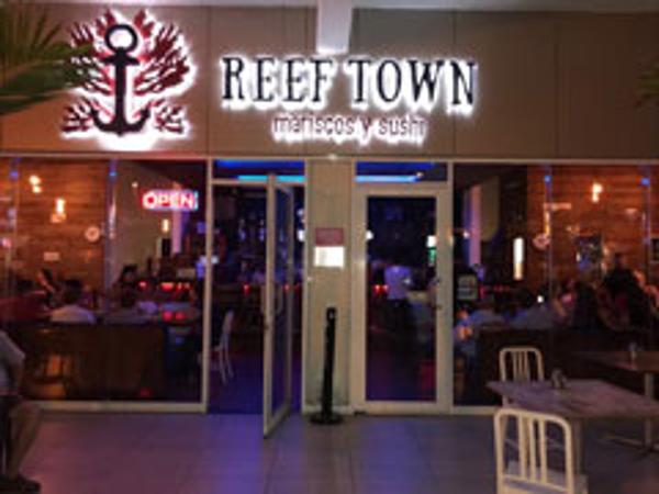Franquicia Reef Town Mariscos y Sushi