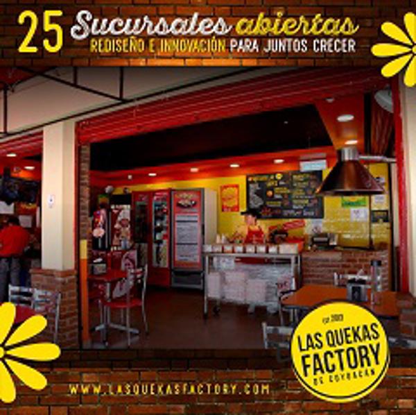 Franquicia Las Quekas Factory
