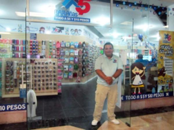 Barañas 5 pesos