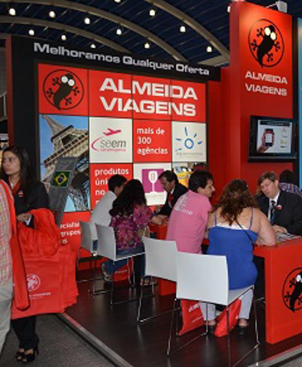 La franquicia Almeida Viajes asiste a la Franchising Fair de Porto Alegre en Brasil