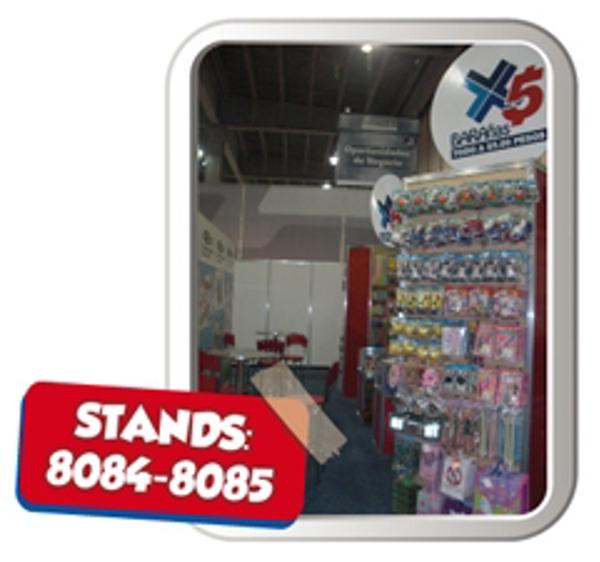 Las franquicias Barañas 5 pesos en la Semana PyME 2012