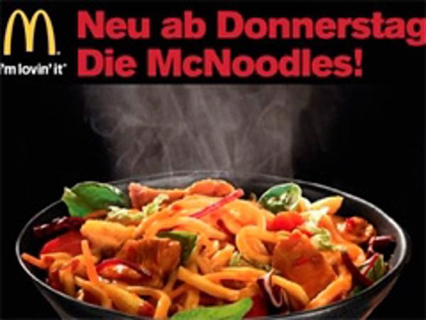 McNoodles, la nueva apuesta de McDonald's