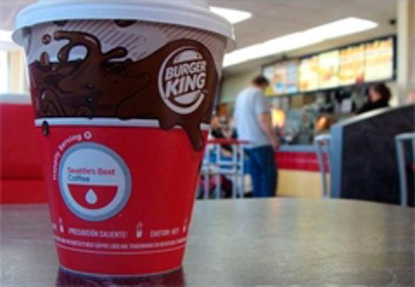 Burger King  se une a Nestlé para introducir nueva marca de café