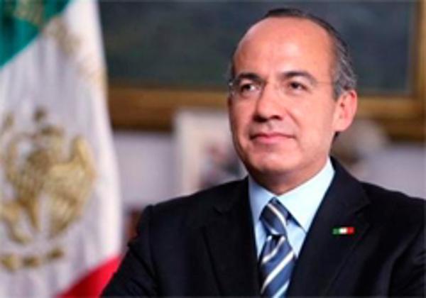 Calderón destaca la fortaleza económica de México en NY