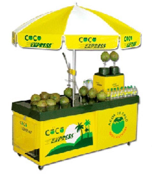 Coco Express: Una franquicia que utiliza el coco fresco