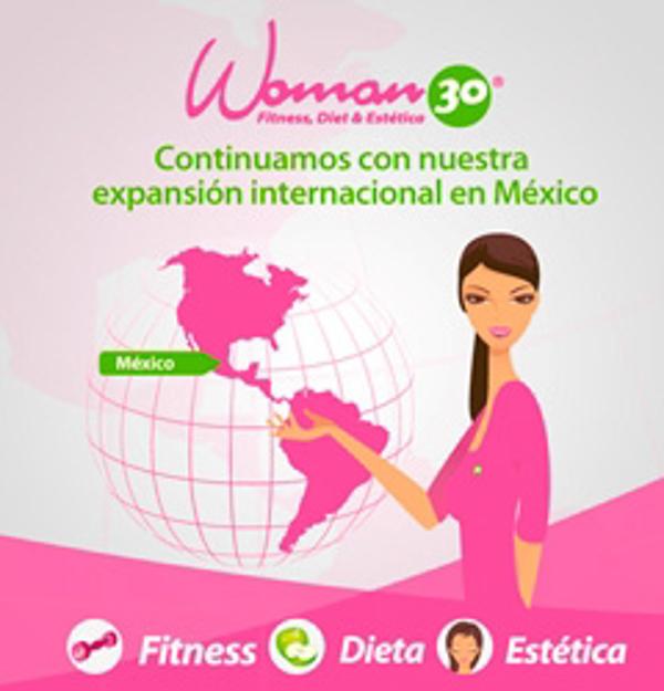 Las franquicias Woman 30 comenzar�n a operar en M�xico en 2013