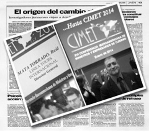 La red de franquicias Línea Tours asistió a CIMET 2013