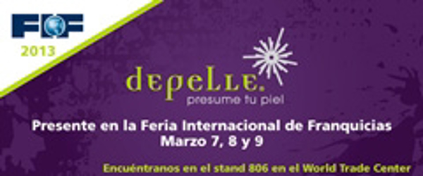 La red de franquicias Depelle participará en FIF 2013