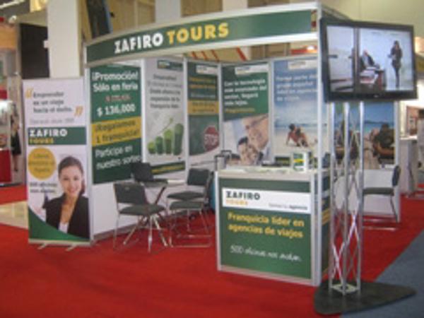Zafiro Tours ha participado en la Feria Internacional de Franquicias