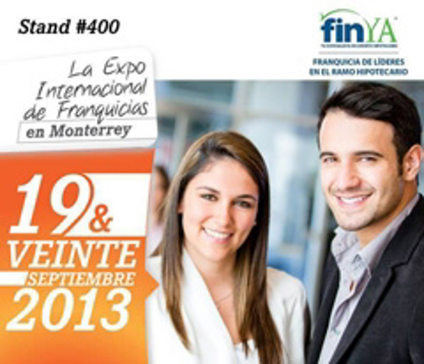 FinYA en la Expo Internacional de Franquicias de Monterrey 2013