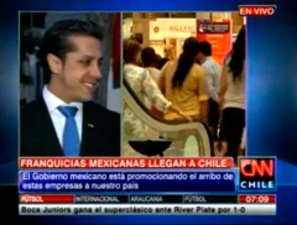 Franquicias mexicanas ven atractivo en el mercado chileno