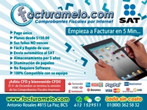 La franquicia Facturamelo.com te ayuda a realizar tus Comprobantes Fiscales por Internet
