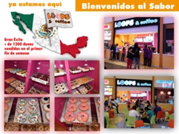 Los LOOPS llegan a México de la mano de la franquicia Loops & Coffee