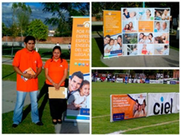 La franquicia Interdomicilio puebla colabora con TV Azteca en Intercoles 2013