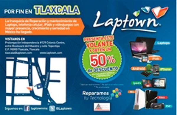 Laptown prevee abrir 4 nuevas franquicias en 2014