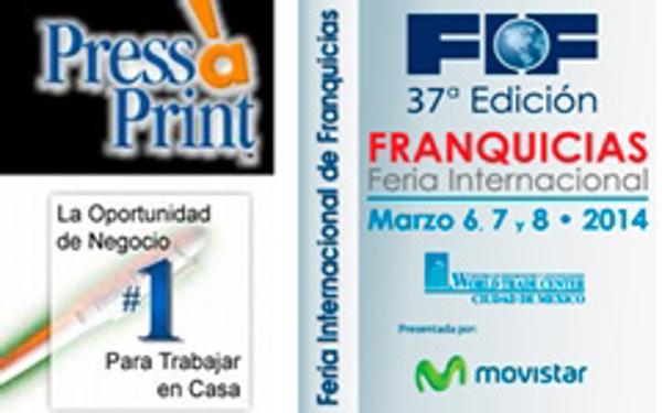 Press a Print asiste a la Feria de Franquicias de México
