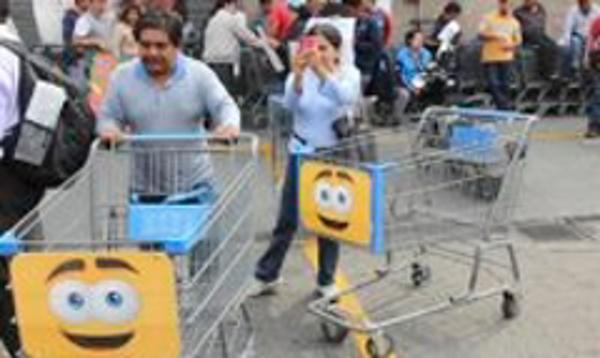 La red de franquicias Walmart incrementó sus ventas en abril