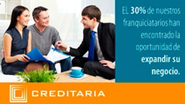 Invertir en las franquicias Creditaria es sinónimo de éxito y expansión
