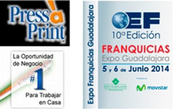 Press-A-Print participa exitosa en Expo Franquicias Guadalajara