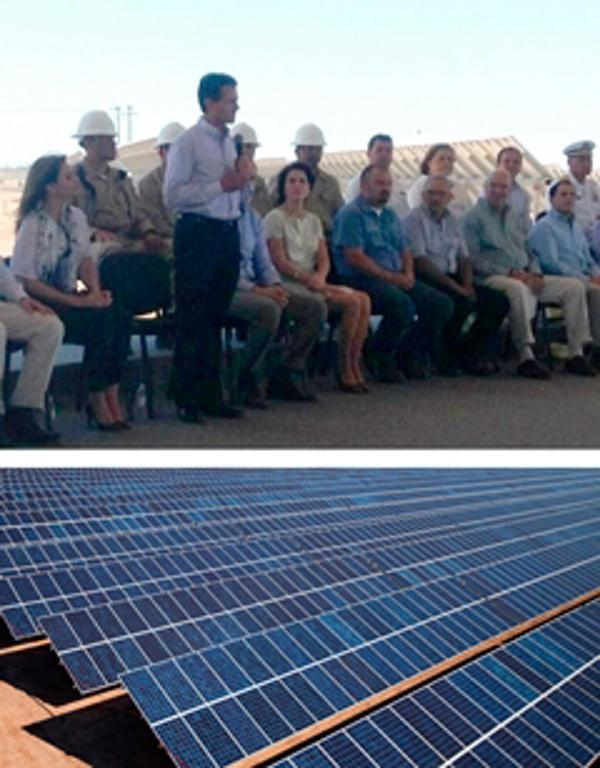 La franquicia Natural Project en la inauguración de la Planta Aura Solar I en BCS
