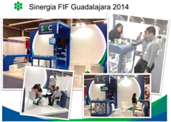 SOC genera SINERGIA dentro de la Expo Franquicias Guadalajara 2014