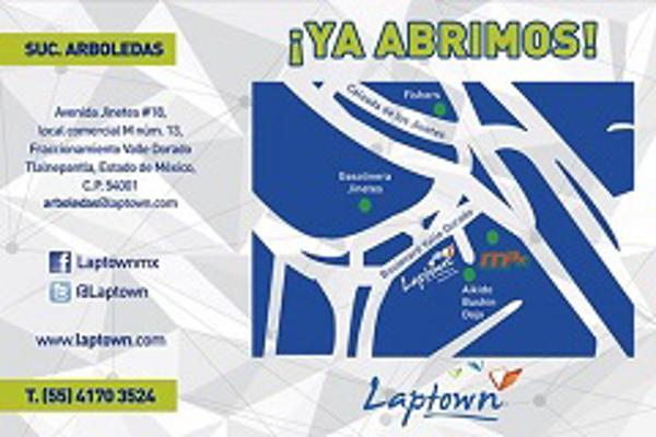 La franquicia LAPTOWN continúa abriendo sucursales, ahora al norte de la ciudad de México, en Arboledas