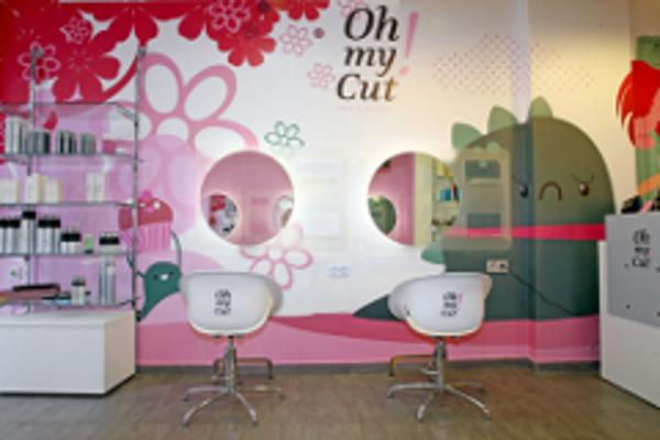 Primer salón de la franquicia Oh my Cut! en México